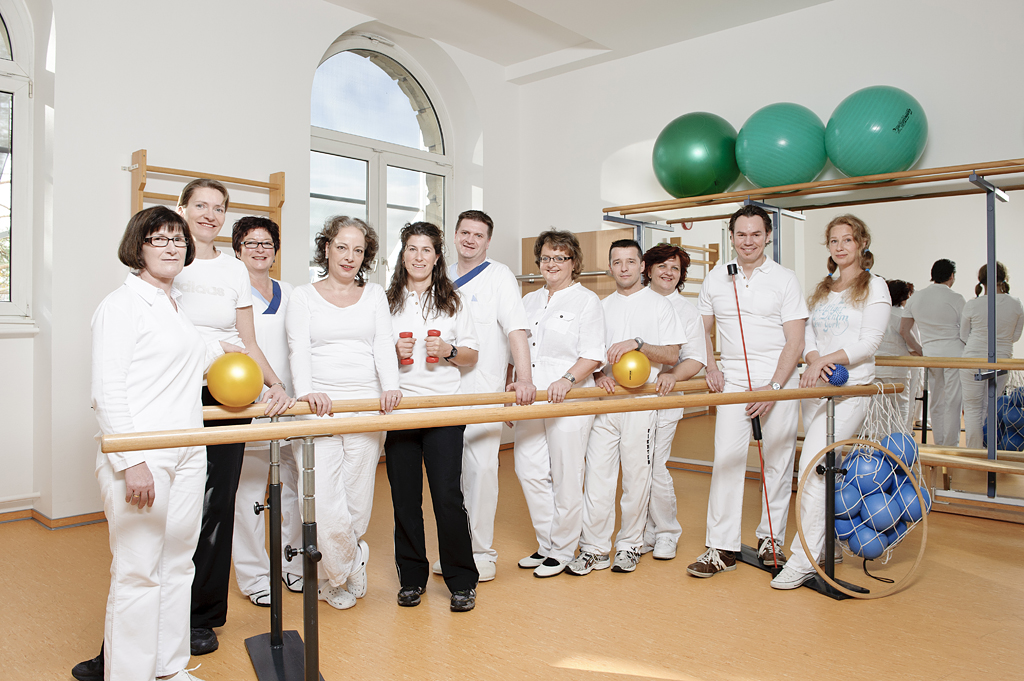 Das Team der Physiotherapie